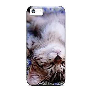 iphone 4 /4s Fashionable phone case skin New Arrival Durability cat