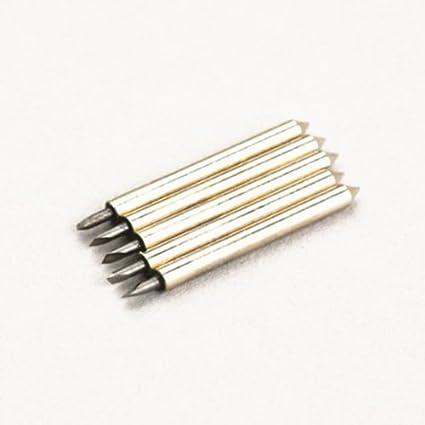 Autek 5 x 60 ° Roland GCC vinilo Cutter Plotter Blades vinylscher ...