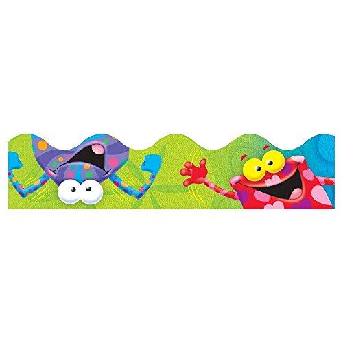 Trend Enterprises Frog-Tastic Frolic Terrific Trimmer, 2-1/4 x 39 Inches, Set of 12]()