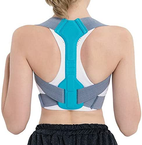 Posture Corrector for Men and Women, Upper Back Brace for Clavicle Support, Adjustable Back Straightener and Providing Pain Relief from Neck, Back & Shoulder, (Universal),M