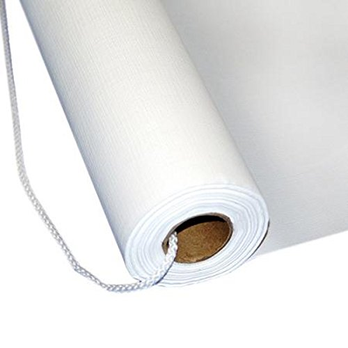 Wedding Aisle Runner White Plain Plastic 36