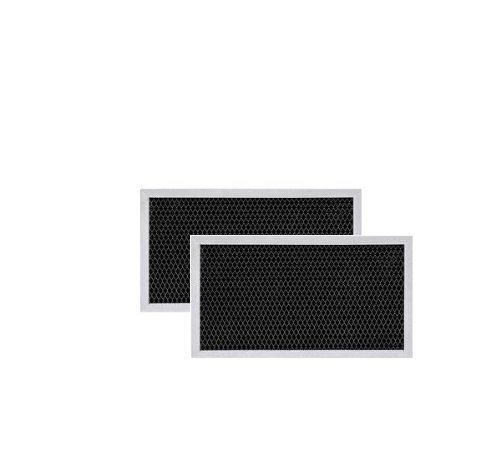 2 PACK WB02X9883 GE Microwave Charcoal Carbon Filter Replacements