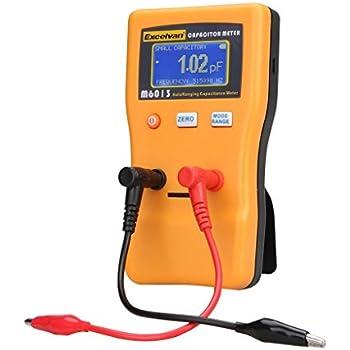 Excelvan M6013 Digital Auto Ranging Capacitance Meter Capacitor Tester Professional 0.01pF to 470000uF