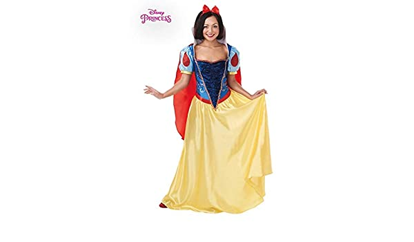DISBACANAL Disfraz de Blancanieves Deluxe para Mujer - -, M ...