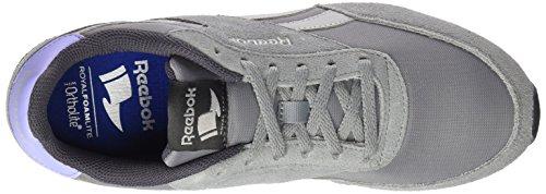Reebok Damen Royal Classic Jogger 2 Sneaker, Grau (Flint Grey/Noir Skull Grey/Ash Grey/White/Black), 37 EU
