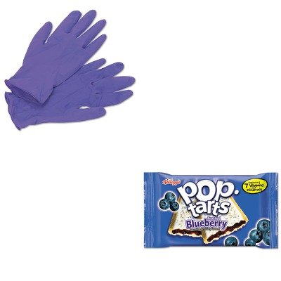 Kimberly Clark Professional Pop - KITKEB31032KIM55082 - Value Kit - Kellogg's Pop Tarts (KEB31032) and KIMBERLY CLARK PURPLE NITRILE Exam Gloves (KIM55082)