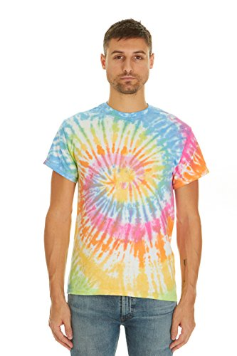 Krazy Tees Tie Dye T-Shirt, Eternity, M