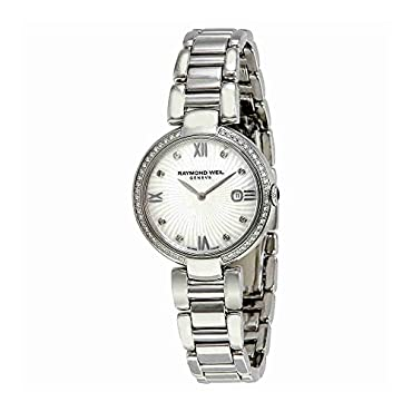 Raymond Weil ' Shine' Quartz Stainless Steel Casual Watch, Color:Silver-Toned (Model: 1600-STS-00995)