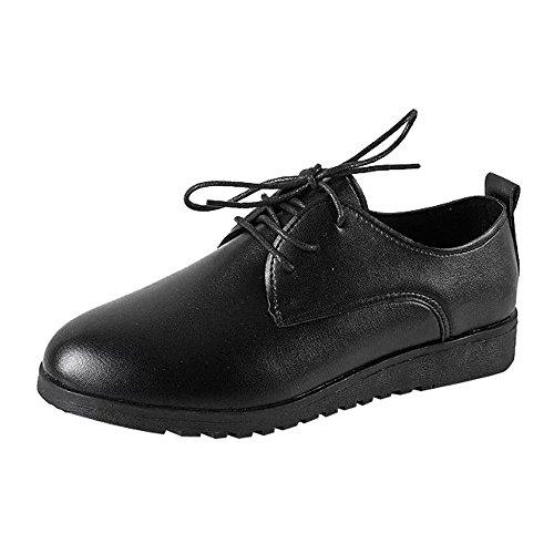 Zapatillas para Mujer Deporte Running Zapatos para Correr Gimnasio Sneakers Deportivas Transpirables Casual Negro