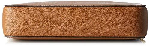 Michael Kors Damen LG EW Crossbody Umhängetaschen, Braun (Luggage 230), 24x16x7 cm 4