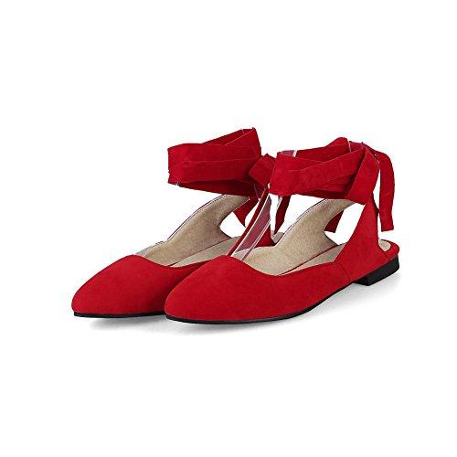 Femme 5 EU Red Rouge Compensées BalaMasa Sandales 36 qFz6WZw