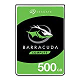 Seagate BarraCuda 500GB Internal Hard Drive HDD - 2.5 Inch SATA 6 Gb/s 5400 RPM 128MB Cache for PC Laptop - Frustration Free Packaging (ST500LM030)