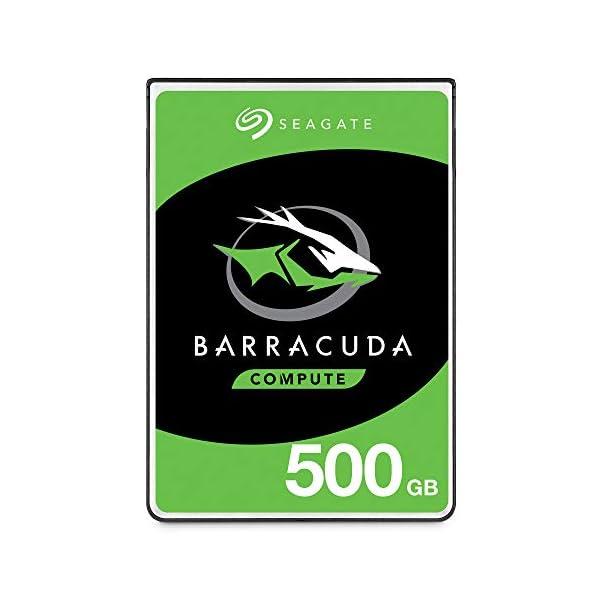 Seagate 500GB Barracuda Sata 6GB/s 128MB Cache 2.5-Inch 7mm Internal Hard Drive (ST500LM030) 2.5 Internal Bare/OEM Drive