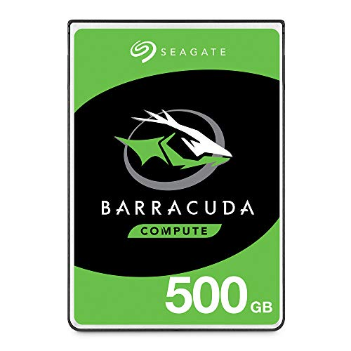 Playstation 3 Memory - Seagate BarraCuda Mobile Hard Drive 500GB SATA 6Gb/s 128MB Cache 2.5-Inch 7mm (ST500LM030)