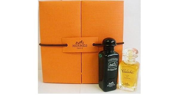 Amazon.com : Hermes Caleche Soie de Parfum and Eau dOrange Verte Cologne Coffret - Set of (2) Mini Perfumes - (2 x 7.5 ml) : Beauty
