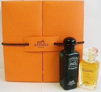 Hermes Caleche Soie de Parfum and Eau dOrange Verte Cologne Coffret - Set of