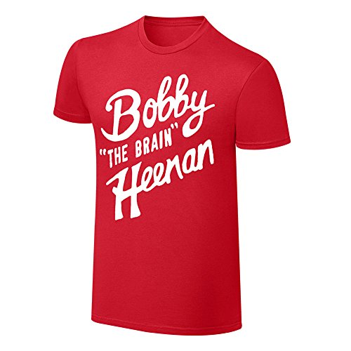 WWE Bobby HeenanThe Brain Vintage T-Shirt Red Large (Authentic Vintage T-shirts)