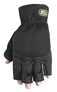 Wells Lamont Fingerless Gloves, Sport Utility, Large (836L)