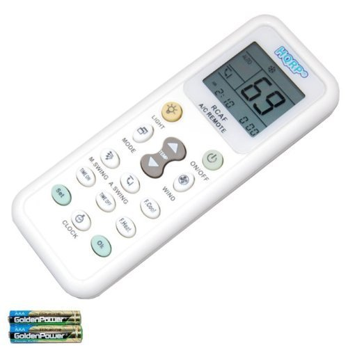 HQRP Remote Control for DAIKIN ARC433B70 ARC433A1 ARC432A2 A