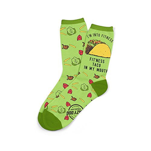 Men's Fitness Taco Sock Funny Cute And Humorous Mexican Food Pun Casual Footwear