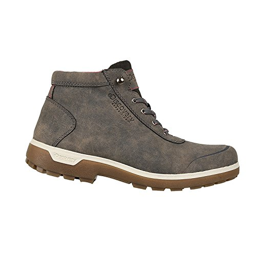 Discovery EXPEDITION Womens Rugged Outdoor Mid Hiking Backpacking Boot Lace-up Brown 7.5