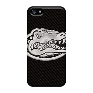Durable Hard Cell-phone Cases For Iphone 5/5s With Support Your Personal Customized HD Florida Gators Image IanJoeyPatricia
