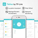 TP-Link AC750 WiFi Range Extender - Dual Band Cloud App Control Up to 750Mbps, One Button Setup Repeater, Internet Booster, Access Point Smart Home & Alexa Devices