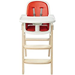 OXO Tot Sprout High Chair, Orange/Birch