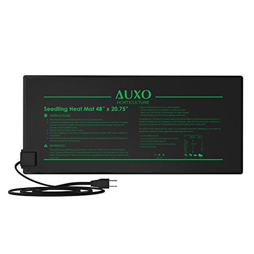 Auxo Horticulture 48'' x 20.75'' Multifunction Waterproof Seedling Heat Mat Warm Heating Pad by AUXO HORTICULTURE
