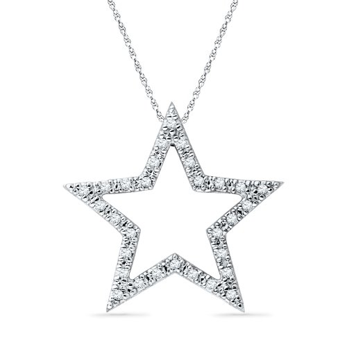 Diamond Star Necklace - 6