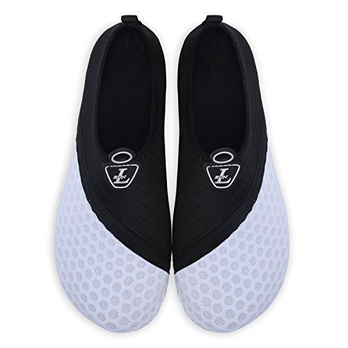 Yoga Shoes De Run L'eau Dive Pour Barefoot Plage Dot Unisexe white run Chaussures Surf Skin L U1qA0Owx