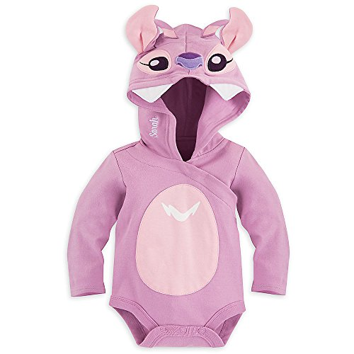 [Disney Angel Bodysuit Costume Baby 6-9 Months Purple] (Easy Lilo And Stitch Costumes)