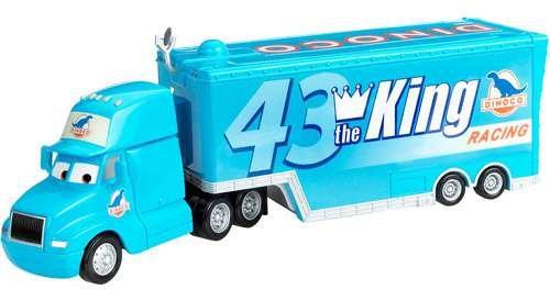 Disney/Pixar Cars Gray Truck with Trailer Mattel BLV14