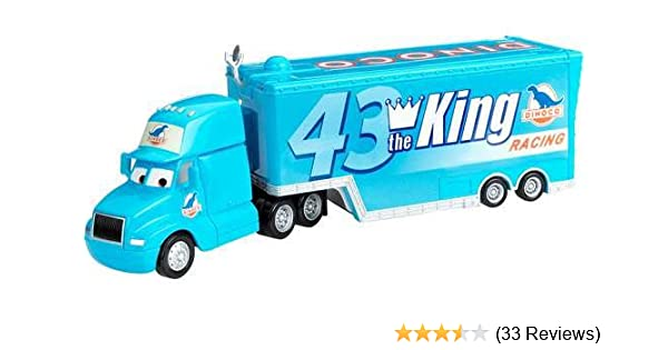 Disney/Pixar Cars, Exclusive Die-Cast Vehicle, Gray Hauler, 1:55 Scale