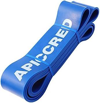 Bandas de resistencia para hombre y mujer APICCRED crossfit bandas el/ásticas para yoga entrenamiento peso de fuerza pilates