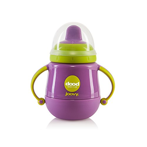 JOOVY Dood Sippy Cup Plus Insulator, Purpleness, 7 Ounce