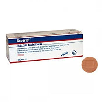 Coverlet Adhesive Strips Round 7/8 Inches --- 100