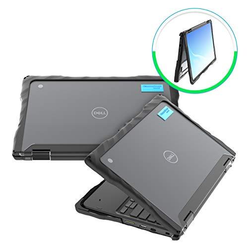 GumDrop Droptech Case Designed for Dell 3100 2-in-1 Chromebook Laptop for K-12...