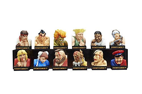 [스트리트 파이터 II]Street Fighter II Losing Face Miniature Figure Busts Blind Box EJ91137 [병행수입품]
