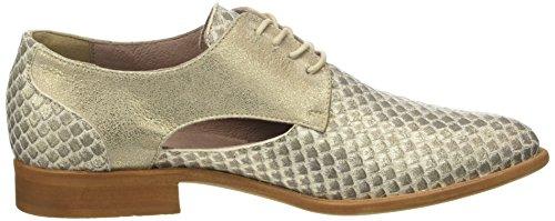 Carol PIU de Derby Camel Cordones Donna Squama Camel Sun Zapatos para Or Mujer 51927 EWnwnRd