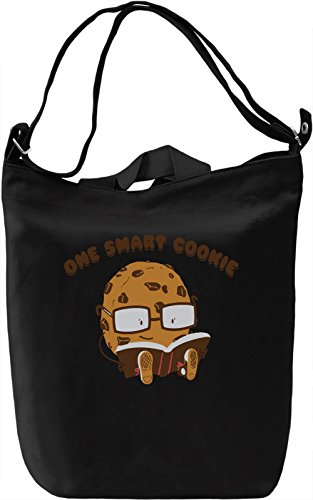 One Smart Cookie Borsa Giornaliera Canvas Canvas Day Bag| 100% Premium Cotton Canvas| DTG Printing|
