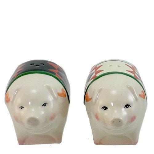 Jim Shore PIGS SALT & PEPPER 4025873 Animals Tabletop New by Jim Shore