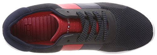 403 Azul Wmn Hilfiger Lightweight Hilfiger Midnight Mujer Zapatillas Sneaker Tommy para qp7UA88