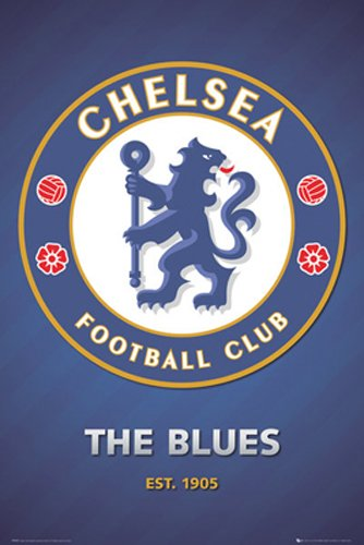 Posterservice Chelsea Crest Poster
