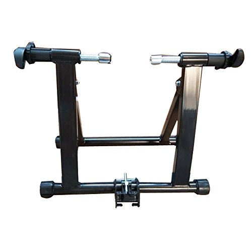 NEW Portable Indoor Exercise Magnetic Resistance Bicycle Trainer Stand Bike(Item#024262)