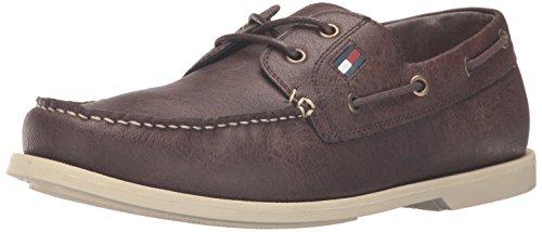 Tommy Hilfiger Men's Aldez Shoe, Brown, 10 Medium - Hilfiger Tommy Brown