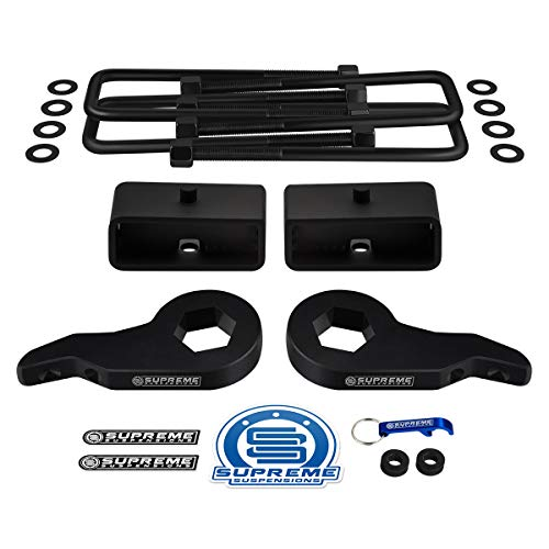 Supreme Suspensions - Full Lift Kit for 1999-2007 Chevrolet Silverado and GMC Sierra 1500 4WD Adjustable 1