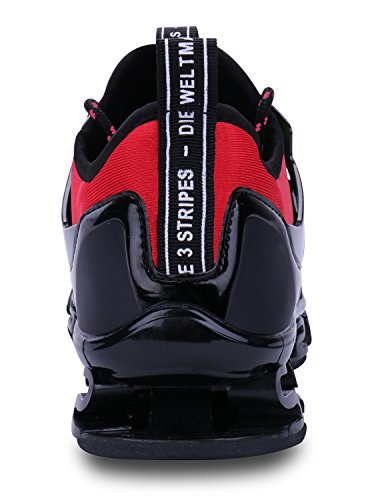 Sneakers Breathable 4 red Mens Shoe VOEN Blade Outdoor Casual Walking Shoes Sport Fashion Mesh zwxnq0CF