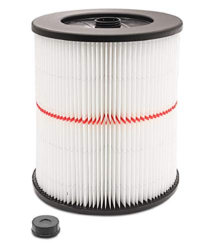 1 Pack Wet/Dry Cartridge Filter Replacement for Shop-Vac for Craftsman 9-17816 fit 5 Gallon & Larger Vacuum Cleaner
