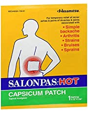 Salonpas-Hot Capsicum Patch - 1 each, Pack of 6